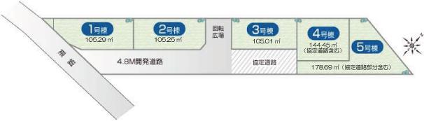 M76 トラストステージ新座畑中Ⅰ期 全5区画02