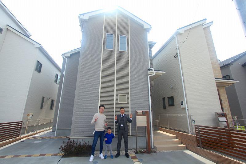 東久留米市で新築一戸建住宅をご購入頂いたA様邸