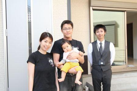 和光市で新築一戸建住宅をご購入いただいたW様邸