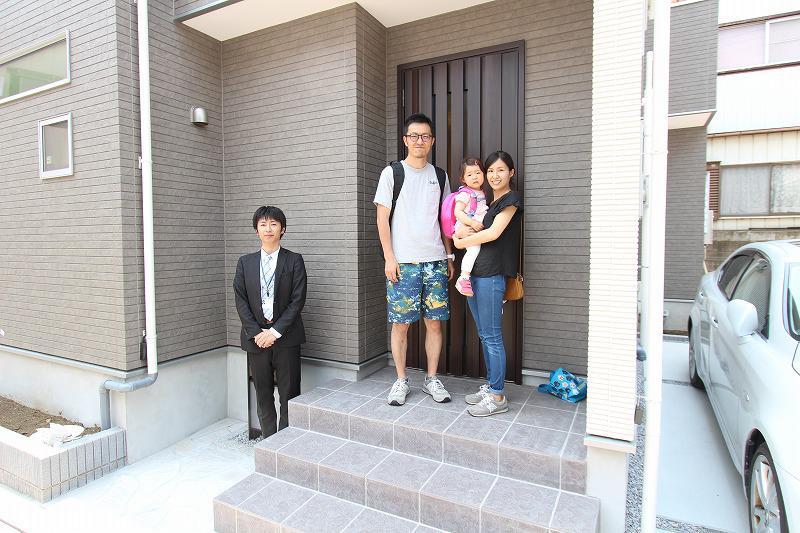 和光市でトラストステージの建物をご購入いただいたS様邸