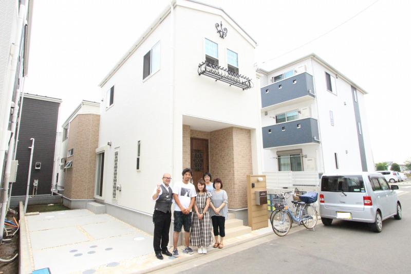 入間郡三芳町でトラストステージをご購入頂いたS様邸