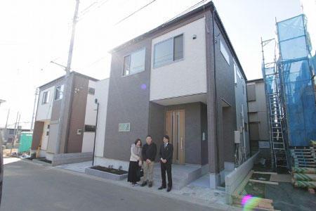 和光市でトラストステージの建物をご購入頂いたI様邸