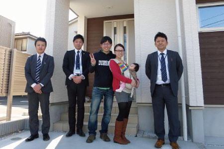 富士見市で新築一戸建住宅をご購入頂いたT様邸
