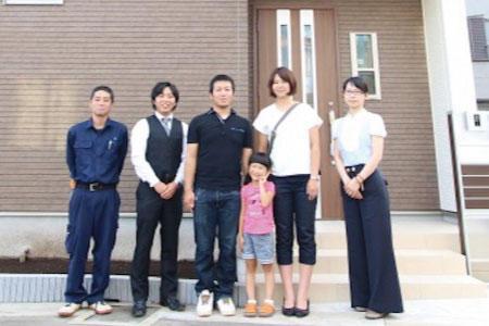 和光市でトラストステージの建物をご購入頂いたK様邸