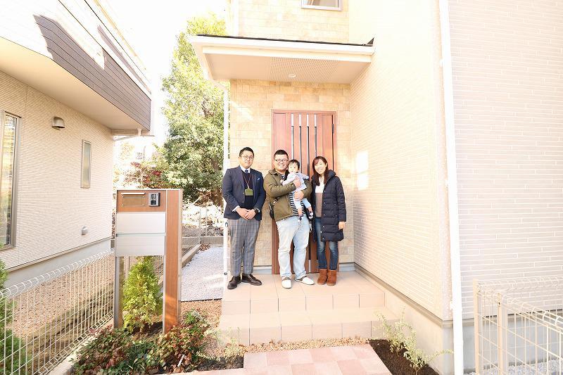 東久留米市で新築一戸建住宅をご購入頂いたO様邸