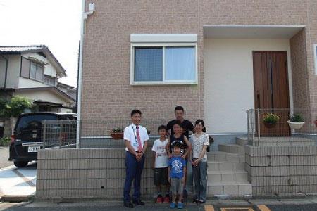 和光市でトラストステージの建物をご購入頂いたH様邸