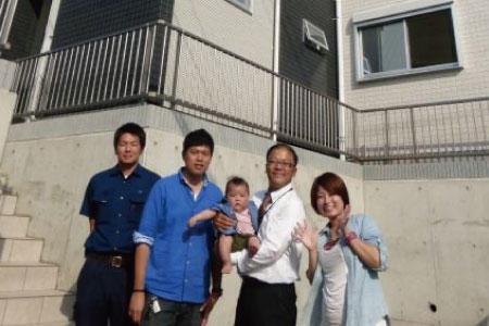 所沢市で自社施工の建物をご購入頂いたH様邸