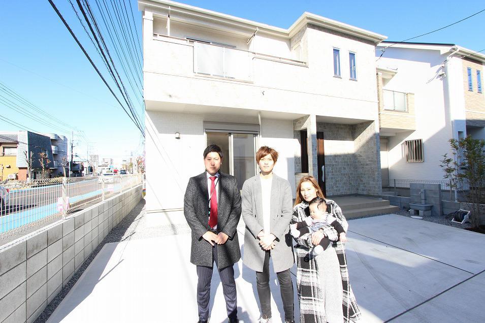 越谷市で新築一戸建住宅をご購入いただいたU様邸