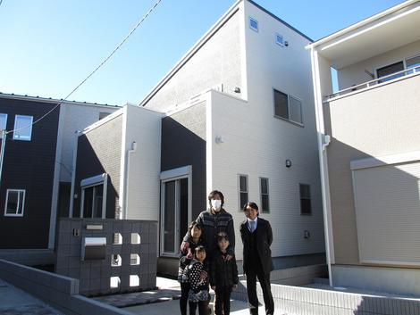 富士見市でトラストステージの建物をご購入頂いたI様邸の画像1