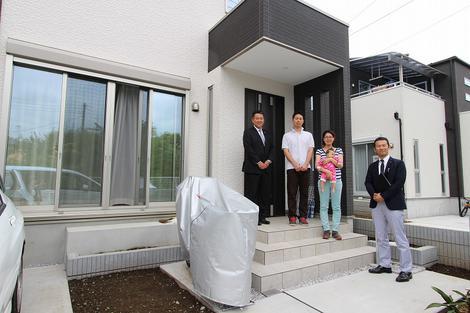 志木市でトラストステージの建物をご購入頂いたG様邸の画像1