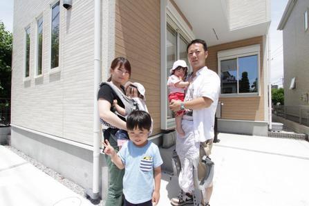 ふじみ野市で新築一戸建住宅をご購入頂いたT様邸