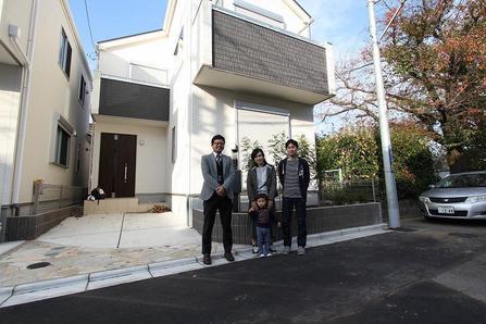 西東京市で新築一戸建をご購入頂いたI様邸