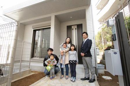 朝霞市で新築一戸建住宅をご購入頂いたI様邸