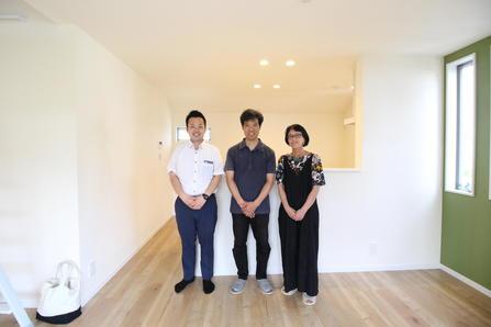 練馬区で新築一戸建住宅をご購入頂いたO様邸