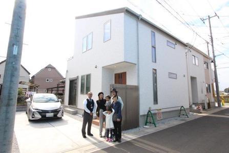 入間郡三芳町で新築一戸建住宅をご購入いただいたS様邸