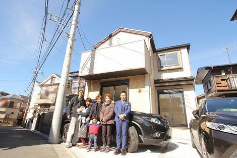 西東京市で新築一戸建住宅をご購入頂いたG様邸の画像1