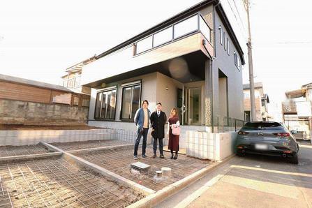 狭山市で新築一戸建てをご購入頂いたO様邸