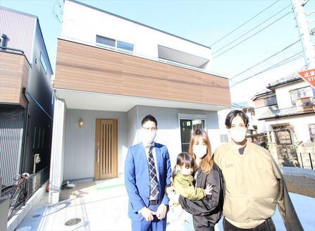 所沢市で新築一戸建住宅をご購入いただいたY様邸