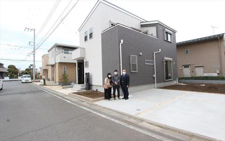 富士見市でトラストステージをご購入いただいたK様邸