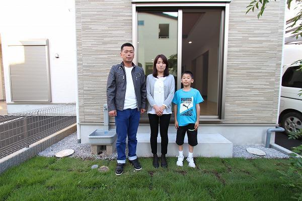 新座市で新築一戸建住宅をご購入頂いたF様邸