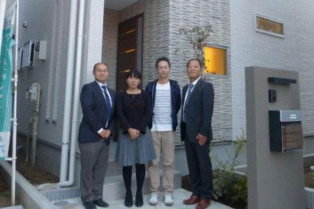 志木市でトラストステージの建物をご購入頂いたF様邸