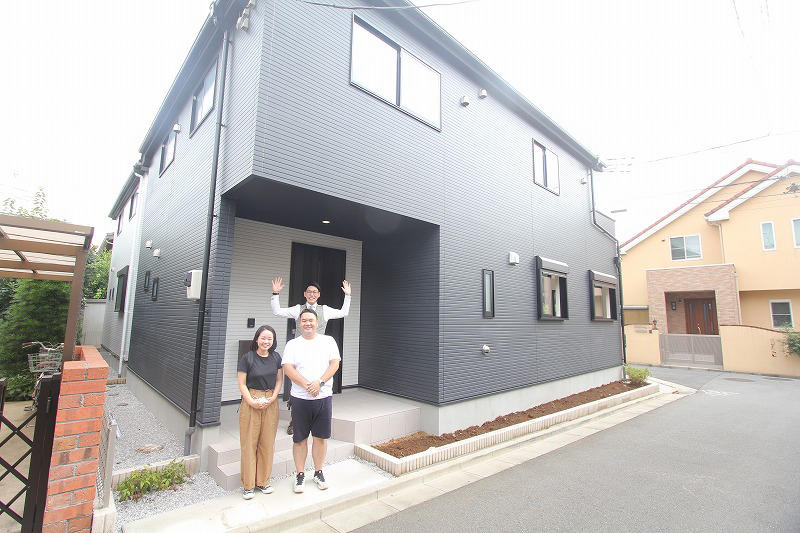 西東京市で新築一戸建てをご購入頂いたO様邸