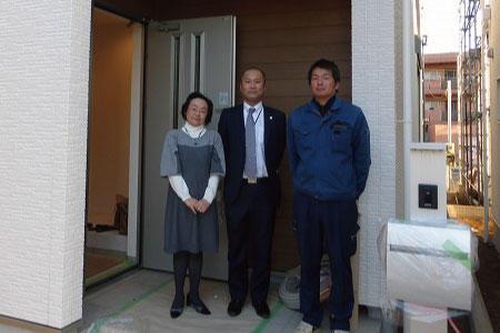 和光市で自社施工の建物をご購入頂いたT様邸