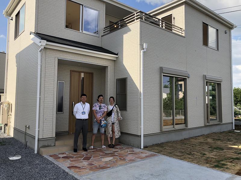 川越市で新築一戸建住宅をご購入頂いたK様邸