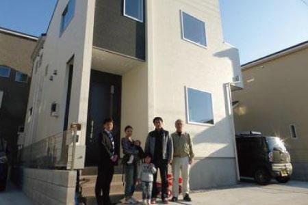 新座市で新築一戸建住宅をご購入頂いたM様邸