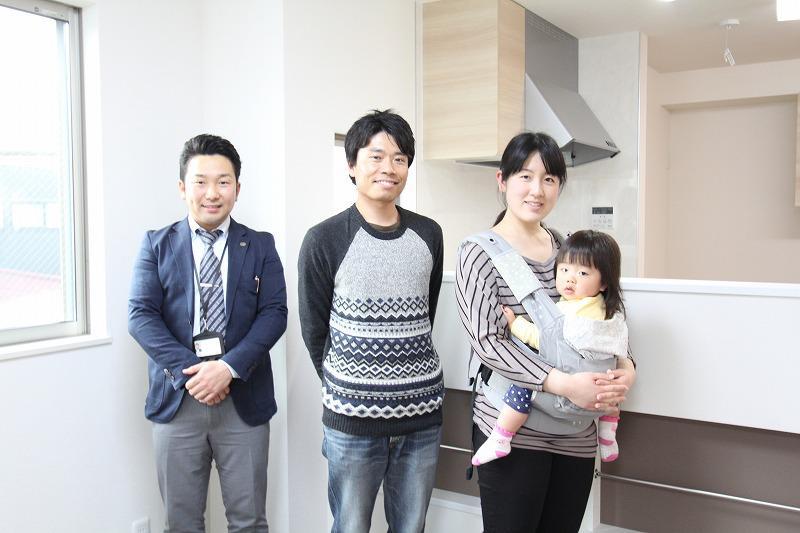 西東京市で新築一戸建住宅をご購入いただいたY様邸