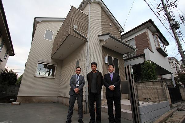 練馬区で新築一戸建住宅をご購入頂いたI様邸