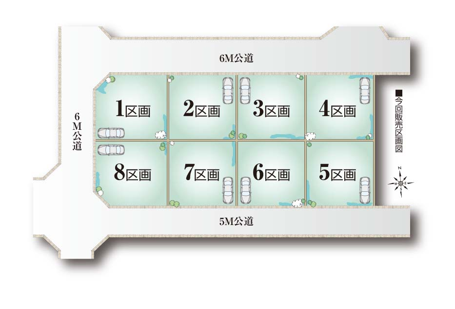 M127 トラストステージ 朝霞市根岸台5丁目14期 建築条件付売地 全8区画01