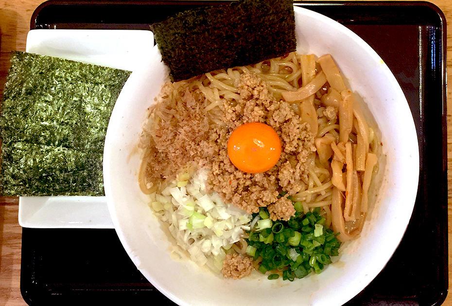 朝霞のつけ麺「タナカ90」